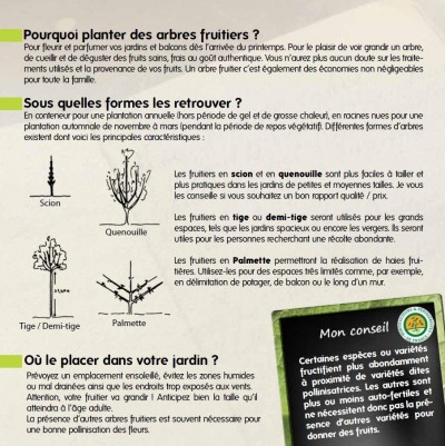 GUIDE Cultivez vos fruits